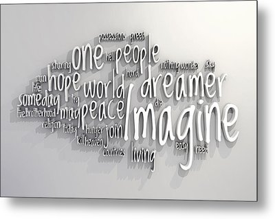 Imagine Metal Print by Scott Norris