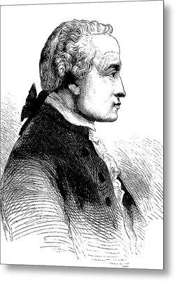Immanuel Kant, German Philosopher Metal Print by Bildagentur-online