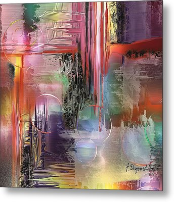 Imperissable  Metal Print by Francoise Dugourd-Caput