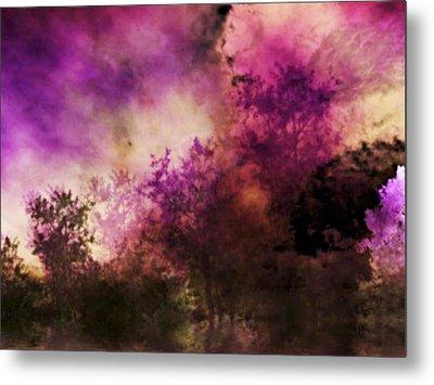 Impressionism Style Landscape Metal Print by Maggie Vlazny