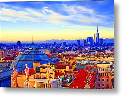 Impressionistic Photo Paint Gs 011 Metal Print by Catf