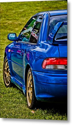 Impreza 22b Metal Print by Phil 'motography' Clark