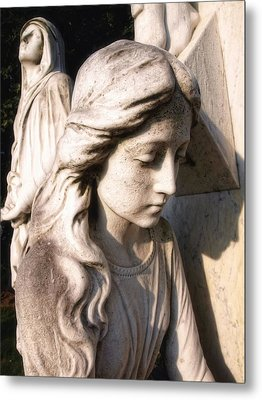In Mourning Metal Print by Tom Druin