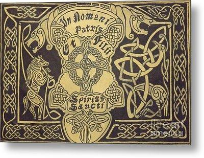 In Nomni Petris Metal Print by Brett Genda