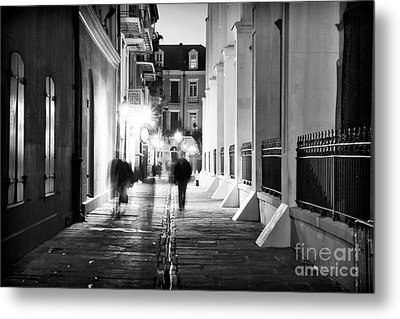 In Pirates Alley Metal Print by John Rizzuto