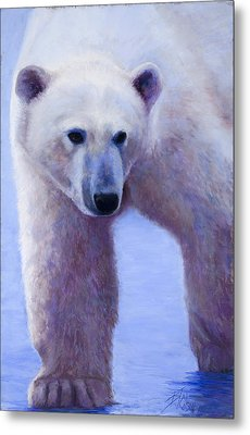 In Search Of Metal Print by Billie Colson