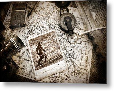 In Search Of Metal Print by Tom Mc Nemar