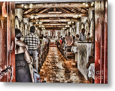 In Service Mission San Antonio De Pala By Diana Sainz Metal Print by Diana Sainz