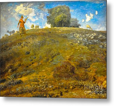 In The Auvergne Metal Print by Celestial Images