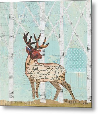 In The Forest IIi Metal Print by Courtney Prahl