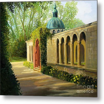 In The Gardens Of Sanssouci Metal Print by Kiril Stanchev