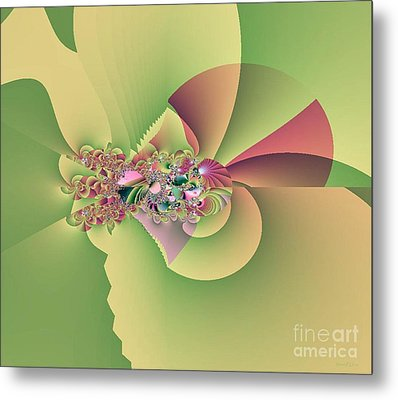 In The Land Of Fairies Metal Print by Maria Urso