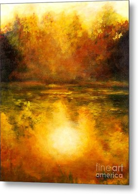 In The Light Of Day Metal Print by Alison Caltrider
