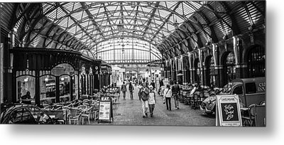In The Market  Metal Print by Steven  Taylor