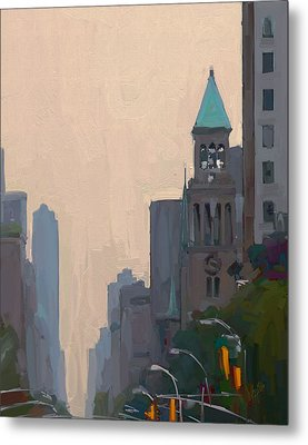 In The New York City Mountains Metal Print by Nop Briex
