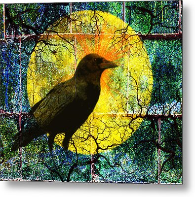 In The Night Metal Print by Nancy Merkle