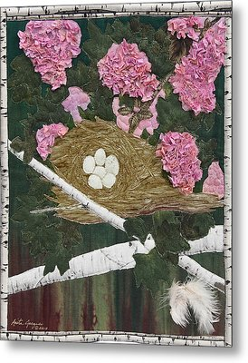 In The Pink Metal Print by Anita Jacques