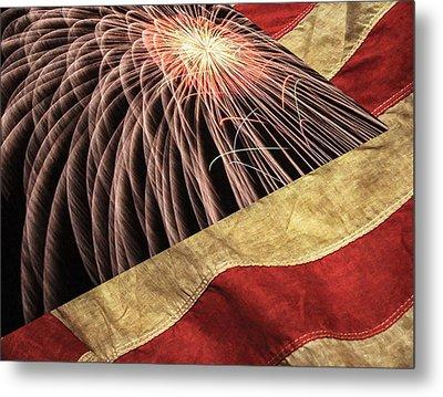 Independence Day  Metal Print by Lanjee Chee