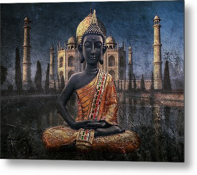 India Metal Print by Joachim G Pinkawa