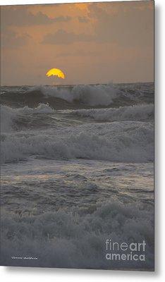 Indialantic Sunrise Metal Print by Tannis  Baldwin