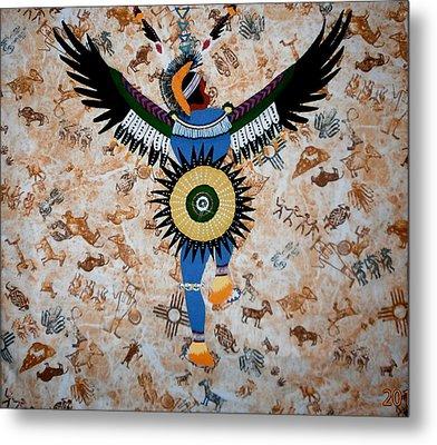 Indian Dance Metal Print by Linda Egland