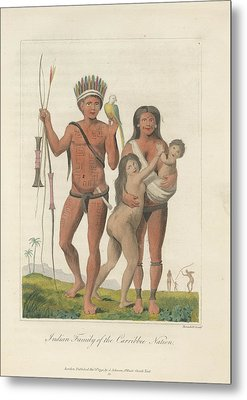 Indian Family Metal Print by British Library