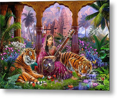 Indian Harmony Metal Print by Jan Patrik Krasny