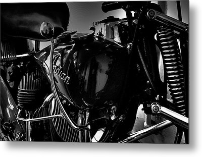 Indian Motorcycle II Metal Print by David Patterson