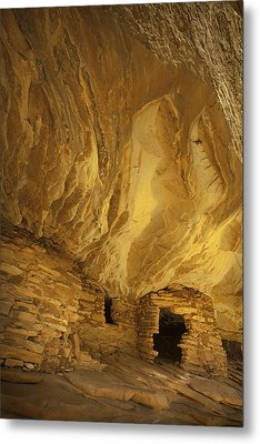 Indian Ruins In Southern Utah Metal Print by Susan  Schmitz