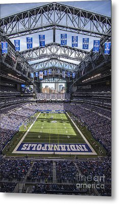 Indianapolis Colts 2 Metal Print by David Haskett