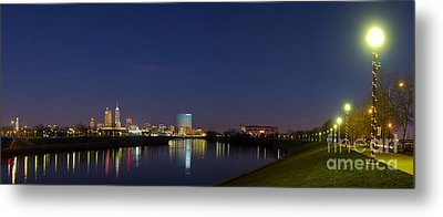 Indianapolis From White River Metal Print by Twenty Two North Photography