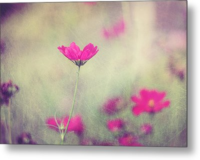 Ingrid's Garden Metal Print by Amy Tyler