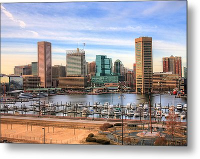Inner Harbor Metal Print by JC Findley