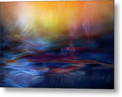 Inner Peace Metal Print by Willy Marthinussen