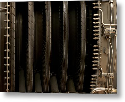 Inside The Engine Metal Print by Christi Kraft