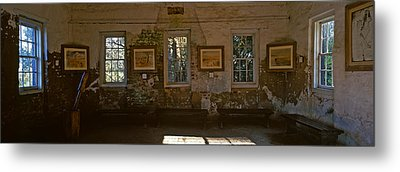 Inside View Of Slave Quarter, Middleton Metal Print by Panoramic Images