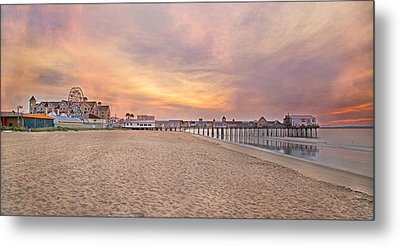 Inspirational Theater Old Orchard Beach  Metal Print by Betsy C Knapp
