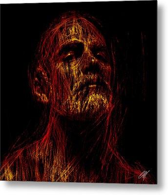 Intimo 2 Metal Print by Chris  Lopez