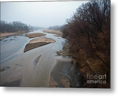 Into The Mist Metal Print by Fred Lassmann