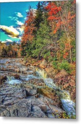 Waterfall Metal Print by John Adams