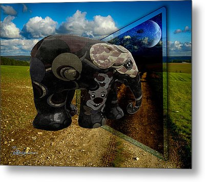 Into The Night Metal Print by EricaMaxine  Price