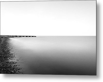 Into The Nothing Metal Print by CJ Schmit