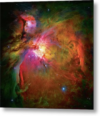 Into The Orion Nebula Metal Print by The  Vault - Jennifer Rondinelli Reilly