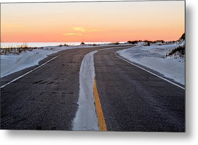 Into The Sunset Metal Print by JC Findley