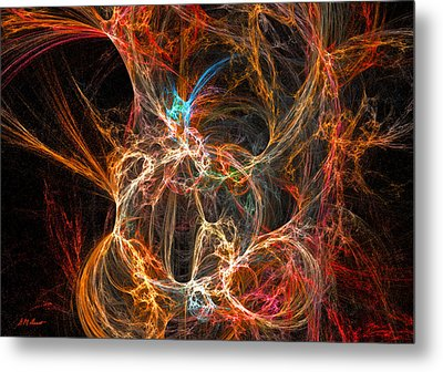 Intrigue Metal Print by Michael Durst