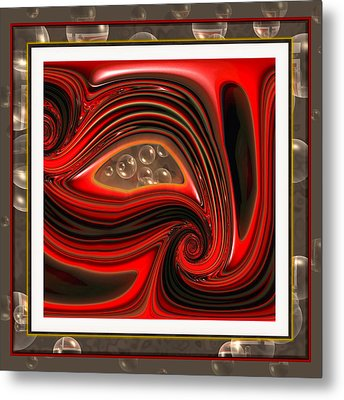 Introspection Metal Print by Wendy J St Christopher