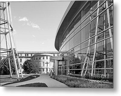 Iowa State University Hoover Hall Metal Print by University Icons
