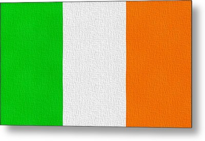 Ireland Flag Metal Print by Dan Sproul