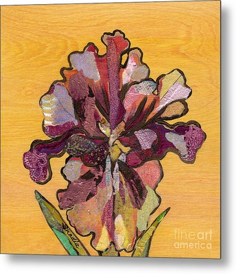 Iris I Series II Metal Print by Shadia Derbyshire
