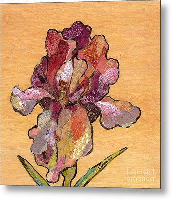 Iris II - Series II Metal Print by Shadia Derbyshire
